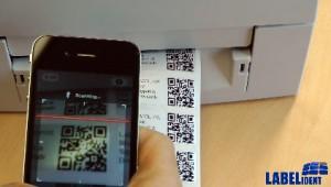 qr code etikett erstellen