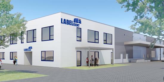 Neubau der Labelident GmbH