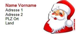 adressetiketten vorlage word 2003 f r weihnachten zum herunterladen labelfox
