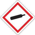 Gefahrensymbol ghs04-gasflasche