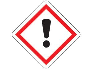 Gefahrensymbol ghs07-ausrufezeichen