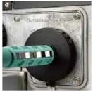 Hochwertiges Metallgehäuse und Druckemechanismus