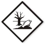 """UN-Etiketten """"Umweltgefährlich – Gefahr für Gewässer oder Kanalisation"""""""