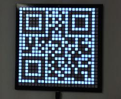 QR-Code Uhr