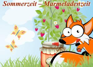 Sommerzeit – Marmeladenzeit