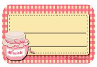 Gratis Marmeladen Etiketten als Word Vorlage zum Download | Labelfox