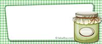 Etiketten blanko grün mittel