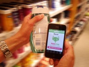 App scannt Barcode und analysiert Inhaltsstoffe