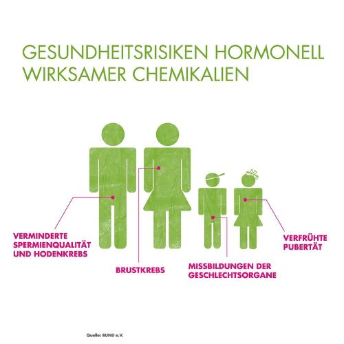Gesundheitsgefahren hormonell wirksamer Chemikalien