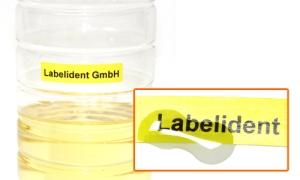Etiketten ablösen mit Öl