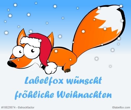 Labelfox Weihnachstgruß