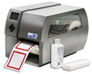 Die Reinigung eines Etikettendruckers