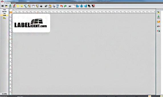 GoLabel Software: Grafik auf dem Etikett platzieren