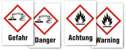 Chemische Stoffe kennzeichnen nach GHS