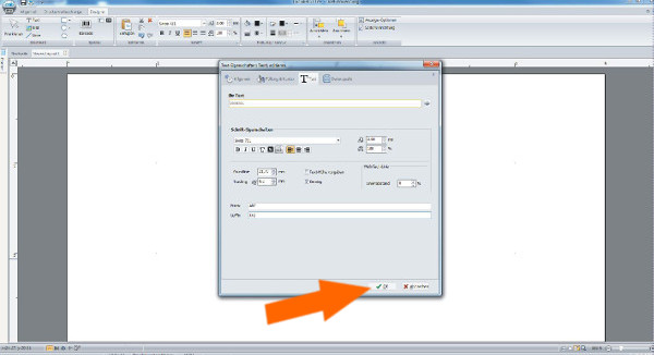 Barcode-Etikett erstellen mit cablabel s3 - Schritt 6