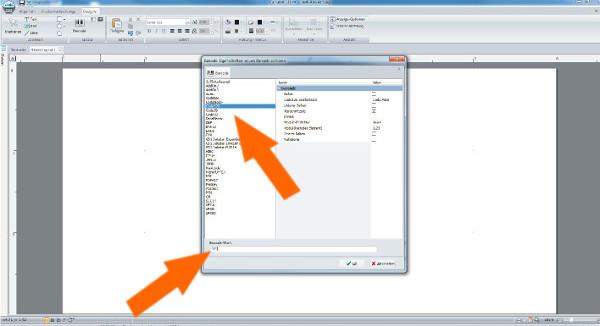 Barcode-Etikett erstellen mit cablabel s3 - Schritt 9