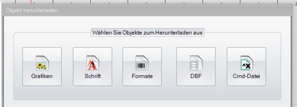 GoLabel - Format einfügen