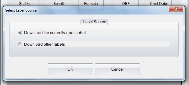 GoLabel - Select Label Souce
