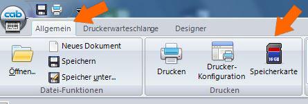 Datei auf USB-Stick speichern