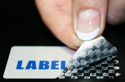 Sicherheitsetikett Labelident
