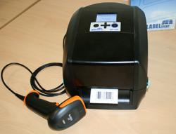 Labelident Etikettendrucker LD BP730ii inkl. Barcodescanner