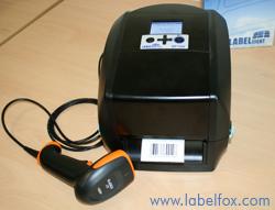 Labelident BP730i Drucker mit Barcodescanner
