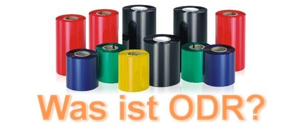 Bedeutung von ODR bei Farbbändern