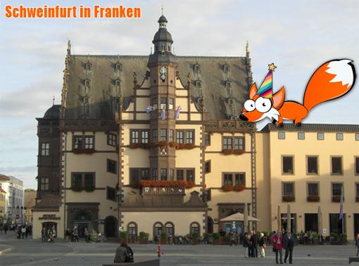 Ein fränkisches Labelfox-Helau aus Schweinfurt