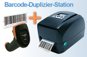 Barcode-Duplizier-Station