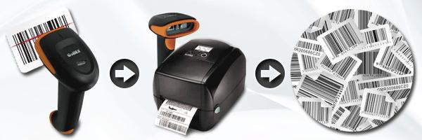 Barcodes mit Scanner kopieren