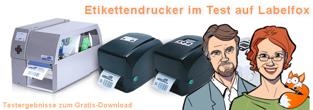 Etikettendruckertests