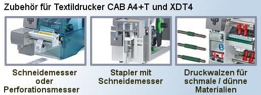 Zubehör CAB A4+T und XDT4