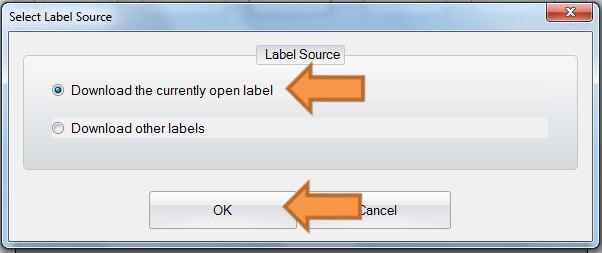 Etikett downloaden
