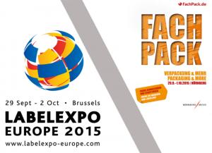 Veranstaltungshinweis Labelexpo & Fachpack