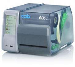 EOS Etikettendrucker mit Schneidmesser