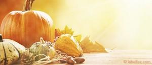 Kürbis Herbstmotiv Etiketten