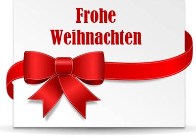Etikett: Geschenschleife Frohe Weihnachten