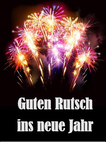 Weinetikett: Guten Rutsch ins Neue Jahr