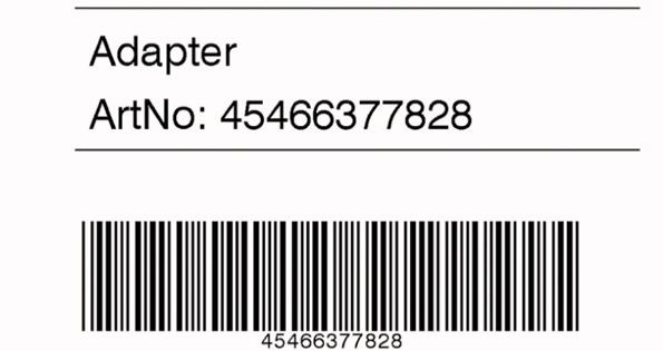 EOS Netzwerk-Nutzung: repariertes Etikett