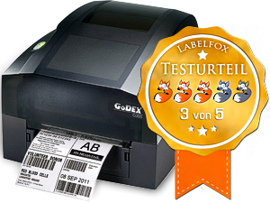 Godex G330 Desktopdrucker im Test