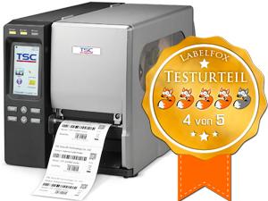 TSC TTP-644MT Drucker im Labelfox-Test