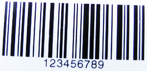 barcode glanz