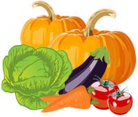 Gemüse-Etikettenvorlagen zum kostenlosen Download