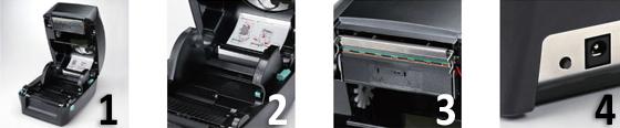 Vorteile des Godex GP-RT700 Desktopdruckers