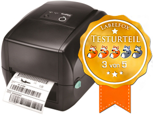 Godex RT700 Desktopdrucker im Labelfox-Test