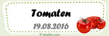Tomaten-Etiketten 99.1 x 33.9 mm