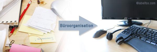 Etiketten für die perfekte Büroorganisation