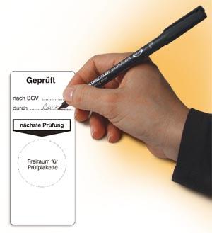 Etiketten ohne Drucker beschriften