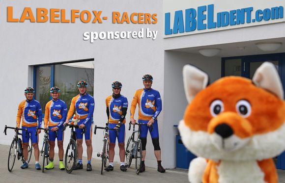 Labelfox-Racers sponsored by Labelident GmbH