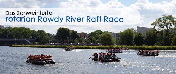 Rotarian River Raft Race Schweinfurt